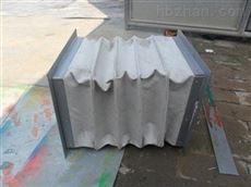 方形帆布除尘通风伸缩软连接 定做