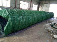 加厚耐磨除尘通风帆布伸缩布袋 加工生产