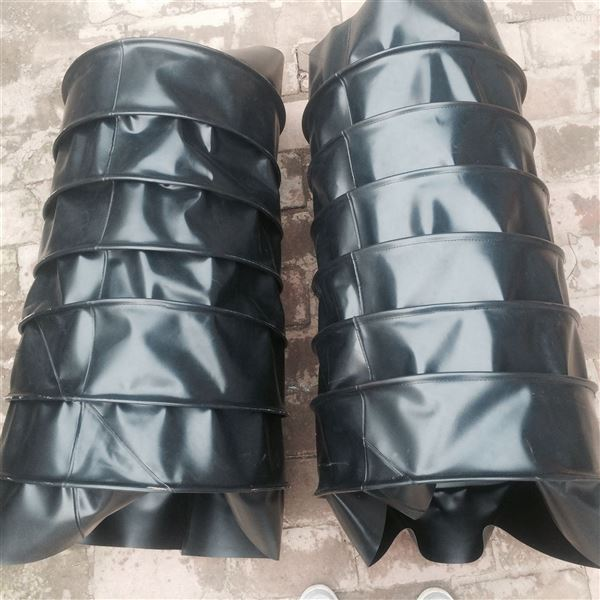 排风耐磨损阻燃帆布软连接  生产