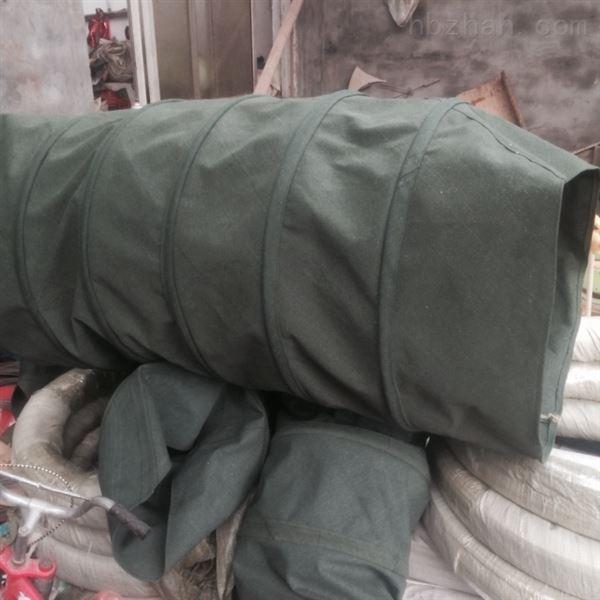 帆布耐磨损除尘伸缩布袋 专业生产