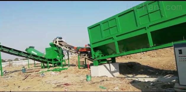 蓝基建筑垃圾处理设备在多省地投产应用