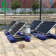 太陽能噴泉曝氣機