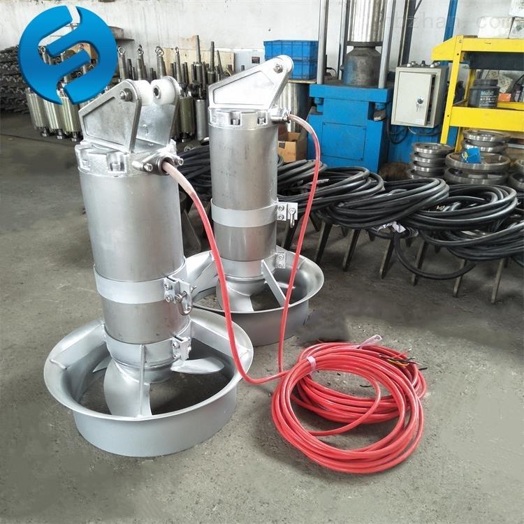 QJB1.5/8-400/3-740曝气机混合潜水搅拌器