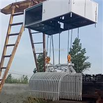 泵站液压抓斗式清污机