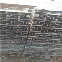 40*60镀锌双面凹槽管-方形凹槽钢管厂家