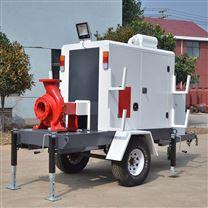 防汛排涝移动泵车