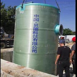 污水一体化不锈钢泵站