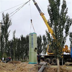 国产的一体化泵站供应