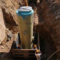 地埋污水提升一体化泵站