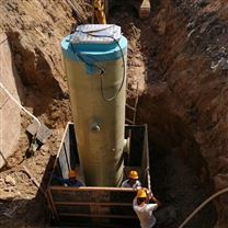 污水提升式一体化泵站
