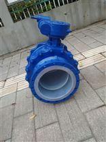 Q341F46-16C蜗轮衬氟球阀