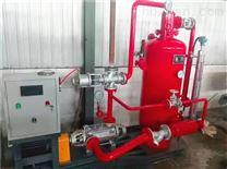 蒸汽回收机与锅炉的配套安装