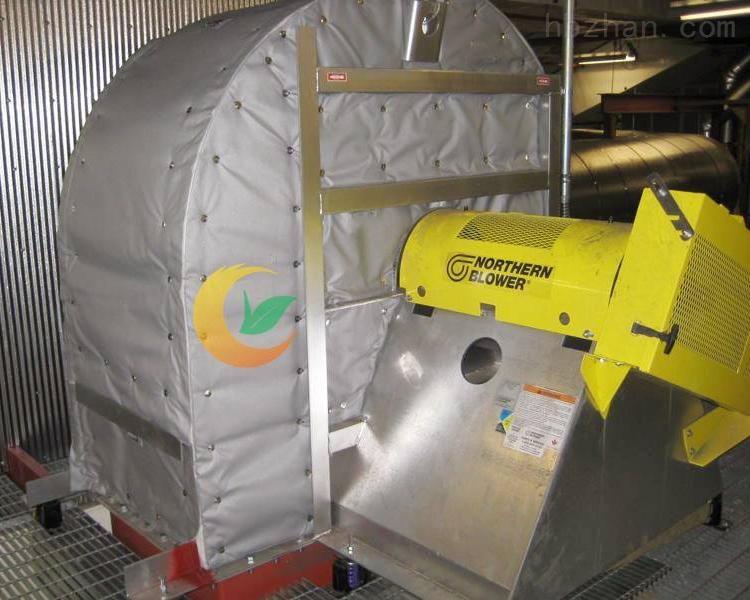 可拆卸式风机保温套