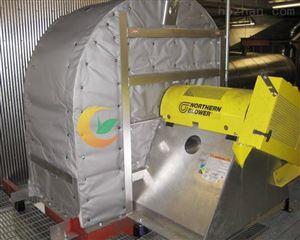威耐斯鼓风机可拆卸风机保温套
