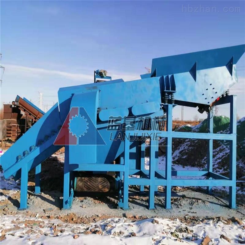 西安垃圾分选机建筑垃圾破碎站设备厂商