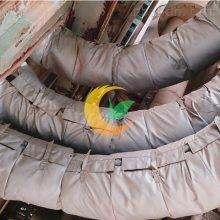 可拆卸造纸厂保温衣