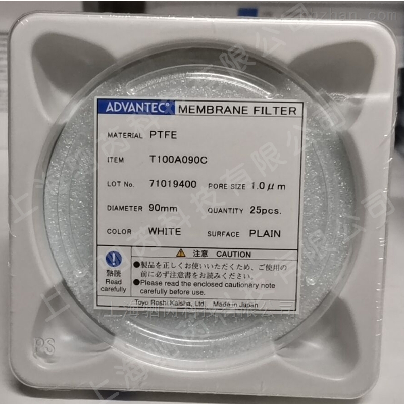 ADVANTEC东洋孔径1umPTFE膜90mm
