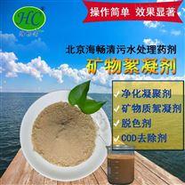 北京海畅清水生态净化凝聚剂水处理专家