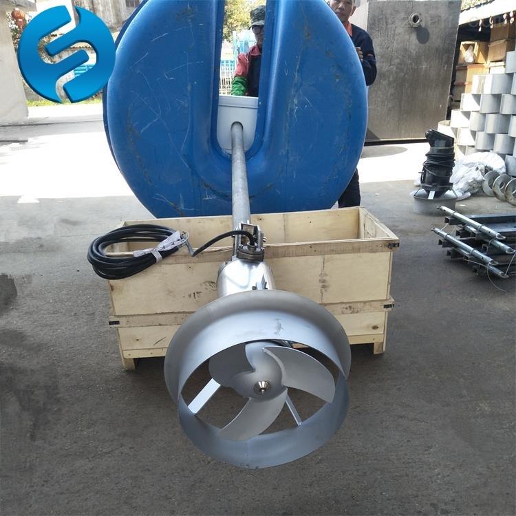 FQJB1.5浮筒搅拌机立式安装方法