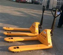 德州西林BF3吨手动液压搬运叉车
