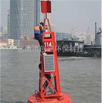 带配重PE塑料航道航标