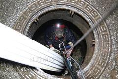 市政排水管道非开挖螺旋缠绕管修复