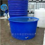M3500L敞口圆桶 PE牛筋桶腌制桶 活鱼养殖桶