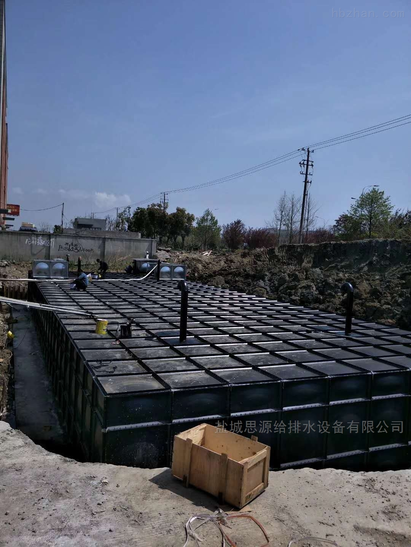 抗浮式地埋箱泵一体化泵站