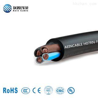 H05BB-F H07RN-FCE认证H05BB-F H07RN-F橡胶软电缆
