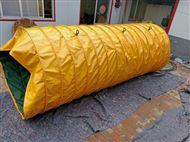 船装水泥伸缩式下料输送布袋