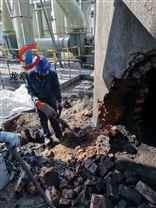 专业人工拆除砖烟囱施工