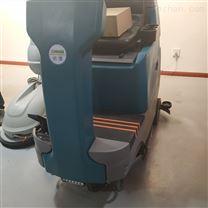 双刷驾驶洗地机 工厂园区大面积地面清洗机