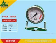 Y60面版式压力表
