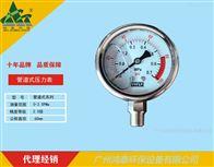 Y60管道式压力表