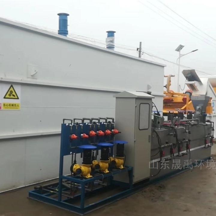 洗菜污水一体化污水处理设备