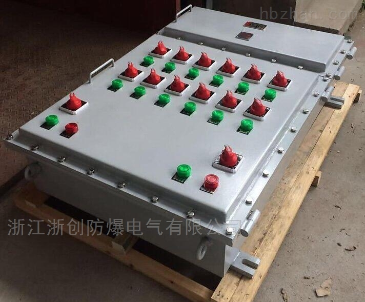 Q235钢板焊接防爆控制箱