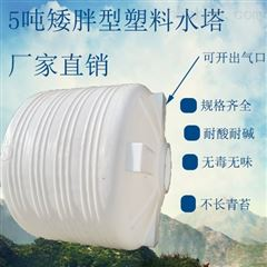 PT-5000L淄博5立方塑料蓄水罐 硫酸钠储罐