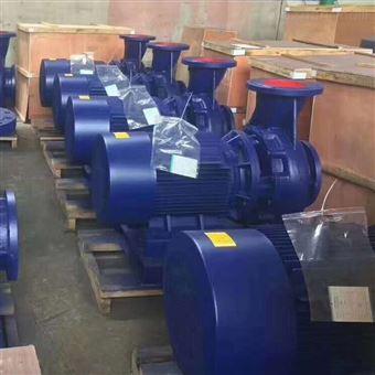 ISW臥式單級單吸管道離心泵