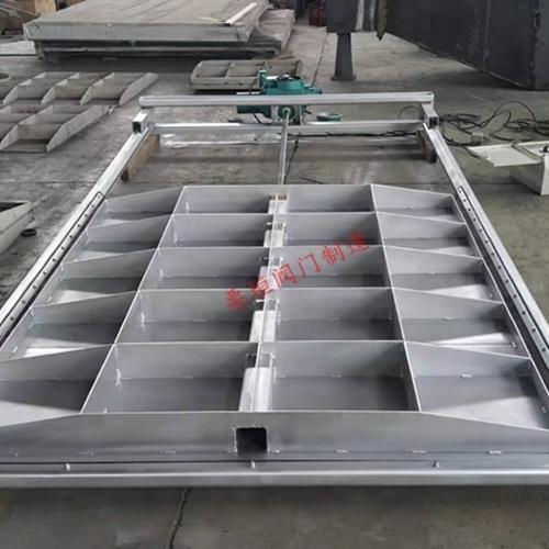 电动方形不锈钢闸门
