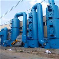 成套旋风水膜组合式湿法除尘脱硫处理系统