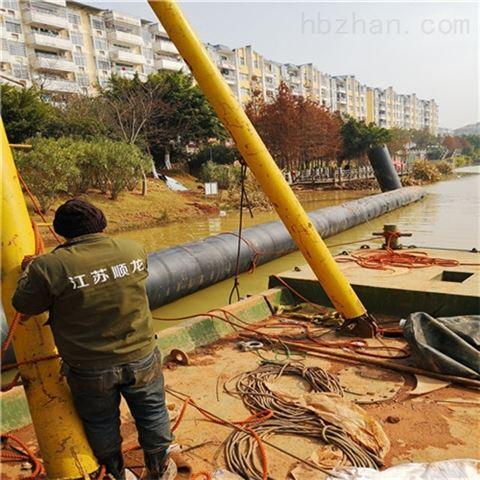 阜新市沉管法施工--水下清理