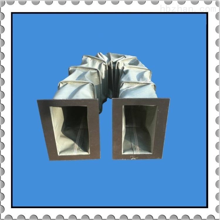 矩形伸缩式阻燃通风软连接