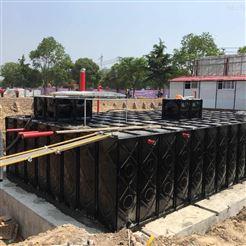 10x5x3抗浮式地埋箱泵一体化(装配式复合水箱)
