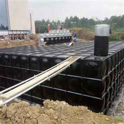 消防地埋箱泵一体化 抗浮式水箱泵站