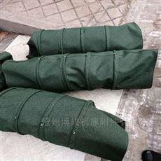 干灰防止扬尘用帆布伸缩布袋规格