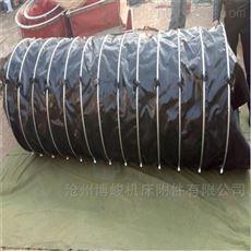 室外卸料收尘橡胶抗老化伸缩袋定制