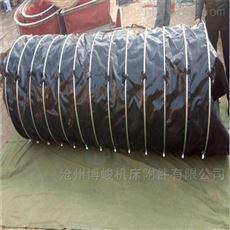 涂胶帆布防水防腐蚀伸缩布袋规格