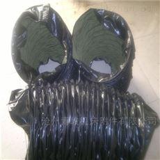 卸料器链接帆布防尘伸缩布袋规格