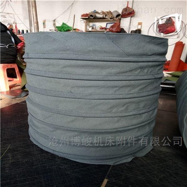 干燥机粉料输送帆布袋筒供应商