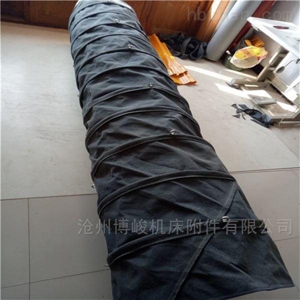 干灰机粉尘输送帆布伸缩布袋厂家生产